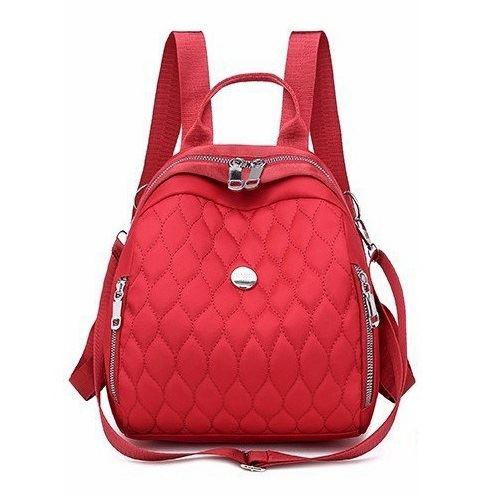 JT134347-red Tas Ransel Wanita Cantik Import Terbaru