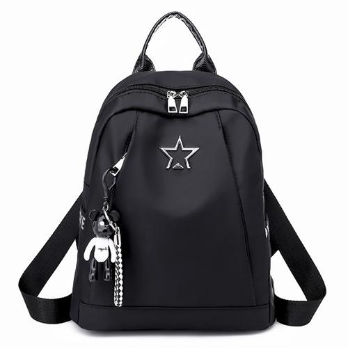 JT134412-black Tas Backpack Terbaru Wanita Elegan