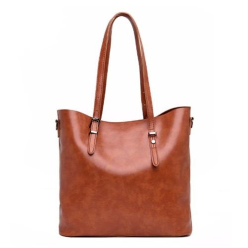 JT13457-brown Tas Selempang Tote Wanita Cantik Import