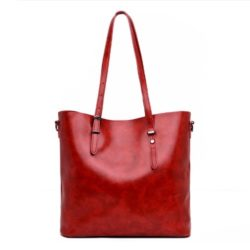 JT13457-red Tas Selempang Tote Wanita Cantik Import