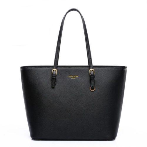 JT13744-black Tas Selempang Tote Wanita Elegan Import