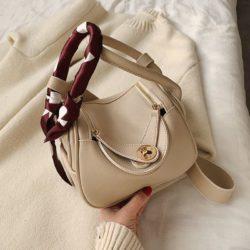 JT13951-beige Tas Handbag Selempang Wanita Cantik Import