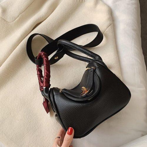 JT13951-black Tas Handbag Selempang Wanita Cantik Import
