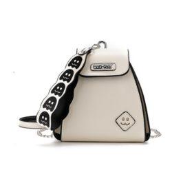 JT14335-beige Pingo Bag Selempang Fashion Korea