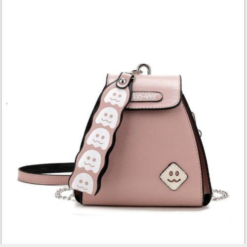 JT14335-pink Pingo Bag Selempang Fashion Korea