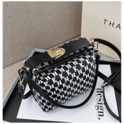 JT14560-black Tas Selempang Modis Wanita Cantik Terbaru Import