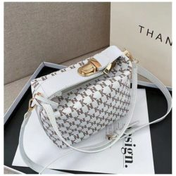 JT14560-white Tas Selempang Modis Wanita Cantik Terbaru Import