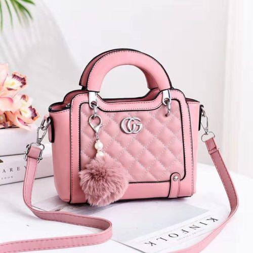 JT0147-pink Tas Selempang Pesta Elegan Import Terbaru