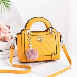 JT0147-yellow Tas Selempang Pesta Elegan Import Terbaru