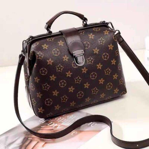 JT15853-starblack Tas Doctor Bag Fashion Wanita Elegan Import