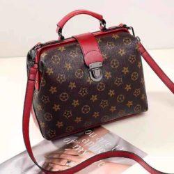 JT15853-starred Tas Doctor Bag Fashion Wanita Elegan Import