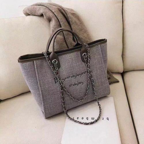 JT15859-gray Tas Hand Bag Casual Wanita Stylish Import Terbaru
