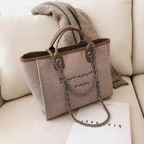 JT15859-khaki Tas Hand Bag Casual Wanita Stylish Import Terbaru