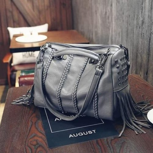 JT1638 IDR.192.000 MATERIAL PU SIZE L30XH25XW10CM WEIGHT 770GR COLOR GRAY