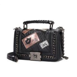 JT1681-black Tas Clutch Bag Wanita Elegan Import Terbaru