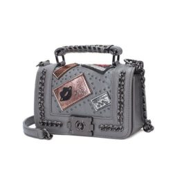 JT1681-gray Tas Clutch Bag Wanita Elegan Import Terbaru
