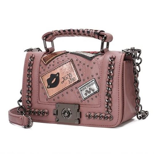 JT1681-pink Tas Clutch Bag Wanita Elegan Import Terbaru