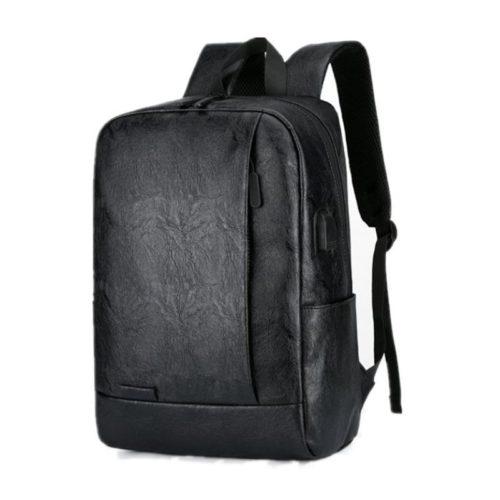 JT16825-black Tas Ransel Pria Modis Import Terbaru
