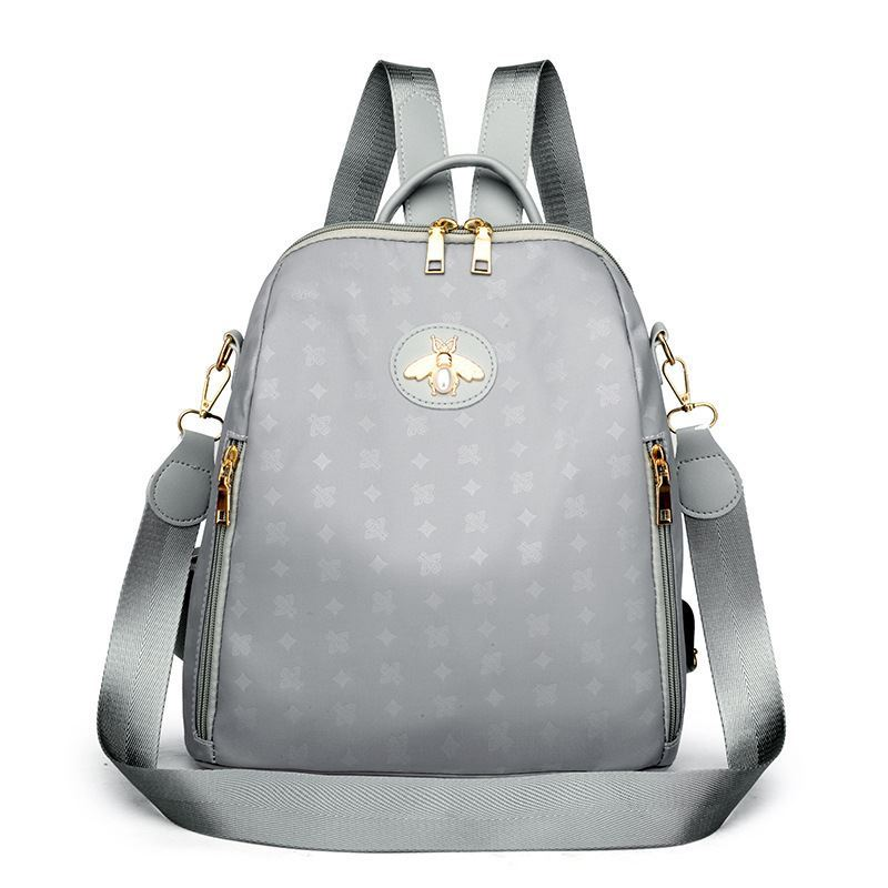 JT1687 IDR.150.000 MATERIAL NYLON SIZE L28XH28XW12CM WEIGHT 450GR COLOR GRAY