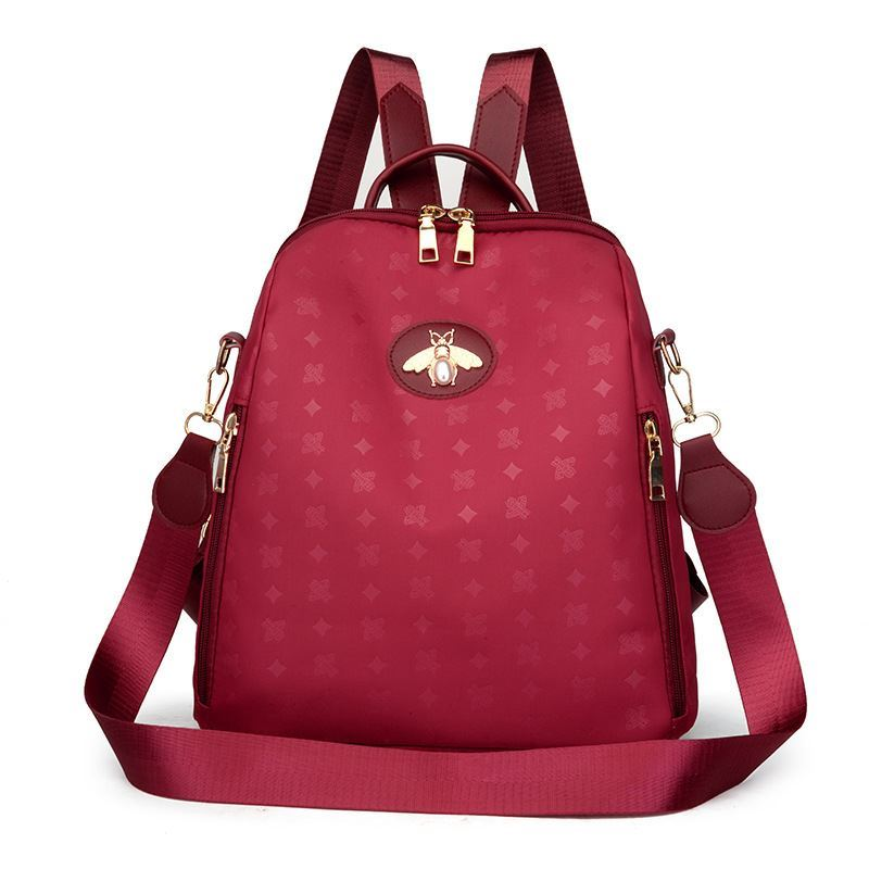 JT1687 IDR.150.000 MATERIAL NYLON SIZE L28XH28XW12CM WEIGHT 450GR COLOR RED
