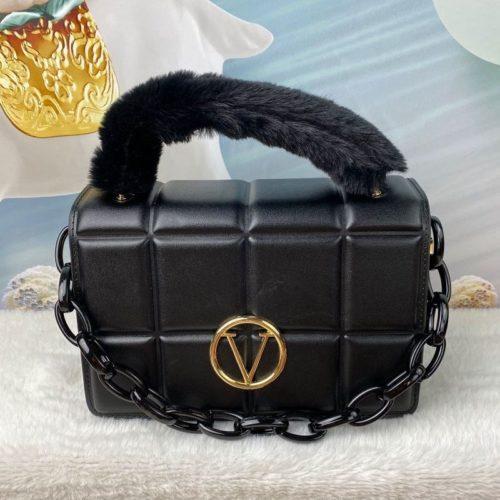 JT1695-black Tas Handbag Wanita Pesta Elegan Tali Selempang