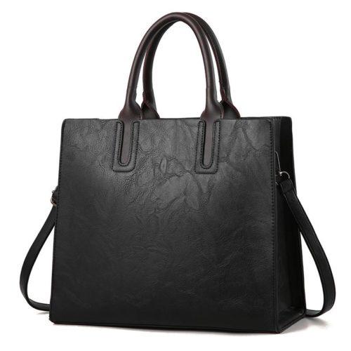 JT1709-black Tas Handbag Selempang Wanita Cantik Import