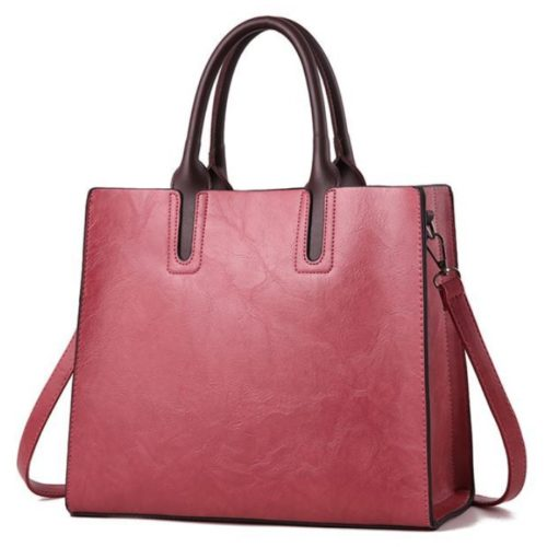 JT1709-red Tas Handbag Selempang Wanita Cantik Import