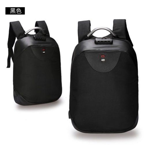 JT1710-black Tas Ransel Laptop Unisex Anti Maling Import