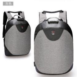 JT1710-gray Tas Ransel Laptop Unisex Anti Maling Import