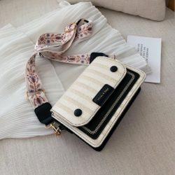 JT17842-black Tas Selempang Honey & Bags Import Wanita Cantik
