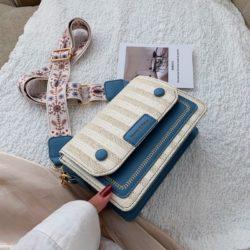 JT17842-blue Tas Selempang Honey & Bags Import Wanita Cantik