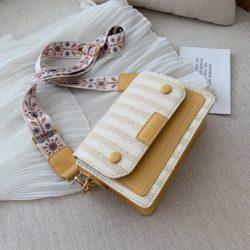 JT17842-yellow Tas Selempang Honey & Bags Import Wanita Cantik