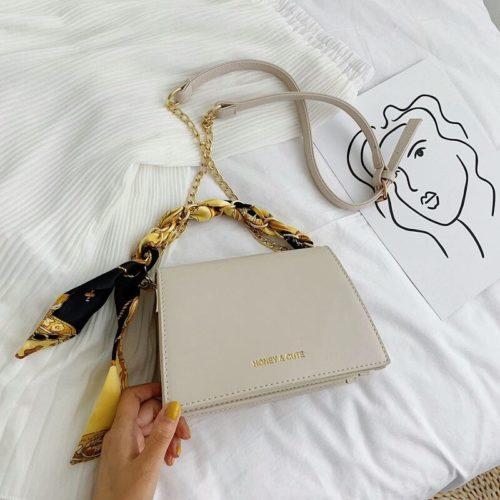 JT17950-white Tas Handbag Selempang Wanita Cantik Terbaru