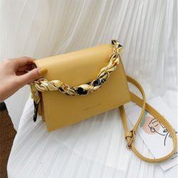 JT17950-yellow Tas Handbag Selempang Wanita Cantik Terbaru