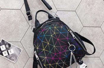 JT1800-black Tas Ransel Backpack Fashion Keren Import