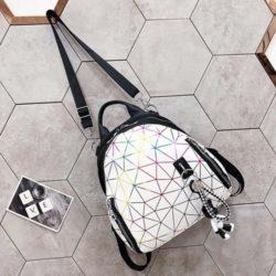 JT1800-white Tas Ransel Backpack Fashion Keren Import