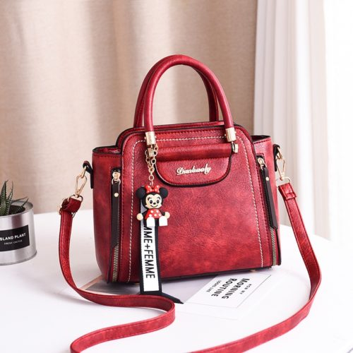 JT1816 IDR.169.000 MATERIAL PU SIZE WEIGHT COLOR WINE