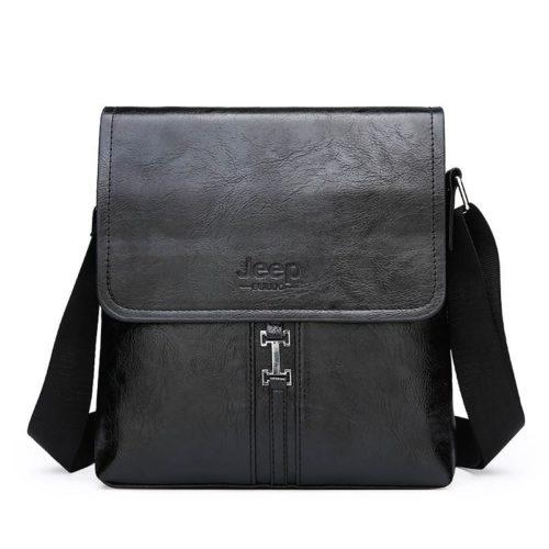 JT1821-black Tas Selempang Pria Modis JEEP Import