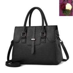 JT18362-black Tas Hand Bag Wanita Cantik Fashion Import Terbaru