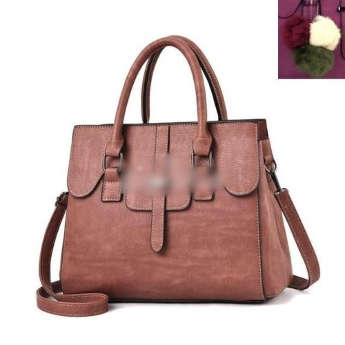 JT18362-darkpink Tas Hand Bag Wanita Cantik Fashion Import Terbaru