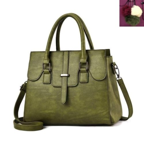 JT18362-green Tas Hand Bag Wanita Cantik Fashion Import Terbaru