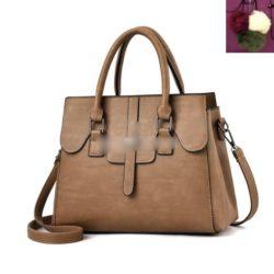 JT18362-khaki Tas Hand Bag Wanita Cantik Fashion Import Terbaru