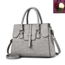 JT18362-lightgray Tas Hand Bag Wanita Cantik Fashion Import Terbaru
