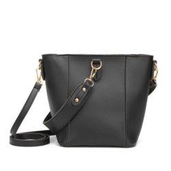 JT1837-black Tas Pingo Bag Selempang Import Cantik