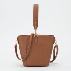 JT1837-brown Tas Pingo Bag Selempang Import Cantik