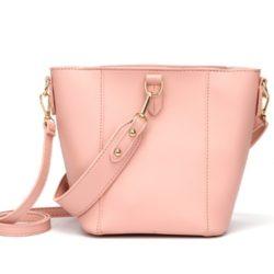 JT1837-pink Tas Pingo Bag Selempang Import Cantik
