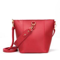 JT1837-red Tas Pingo Bag Selempang Import Cantik