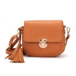 JT1839-brown Tas Selempang Modis Import Wanita Terbaru