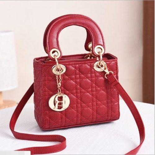 JT18605-red Tas Pesta Wanita Elegan Terbaru Import