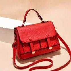 JT18667-red Tas Handbag Wanita Cantik Elegan Import
